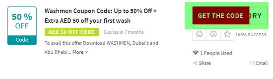 Washmen Code