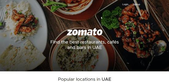 Zomato UAE